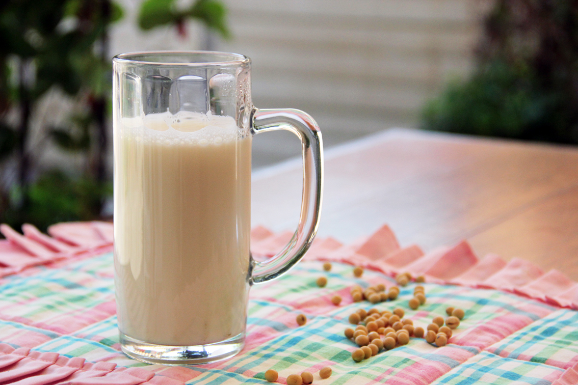 Warm Soy Milk Drinks