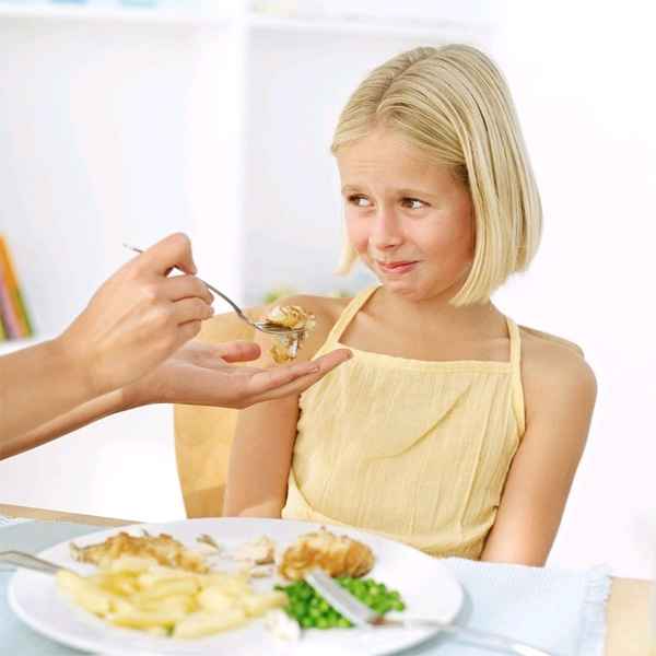 Why does my child not want to eat?